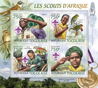 [Minerals & Birds - Scouts of Africa, Typ ]