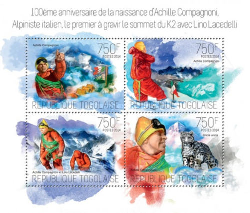 [The 100th Anniversary of the Birth of Achille Compagnoni, 1914-2009, type ]