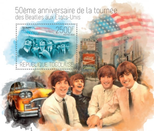 [The 50th Anniversary of the Beatles Tour in USA, type ]