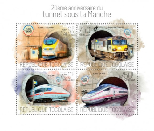 [Transportation - The 20th Anniversary of the Channel Tunnel, type ]