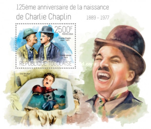 [The 125th Anniversary of the Birth of Charlie Chaplin, 1889-1977, type ]