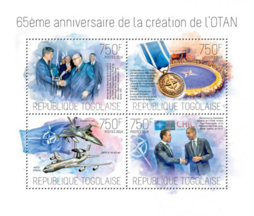 [The 65th Anniversary of the Founding of NATO, type ]