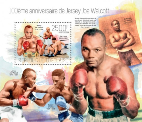 [Sports - The 100th Anniversary of the Birth of Jersey Joe Walcott, 1941-1994, type ]