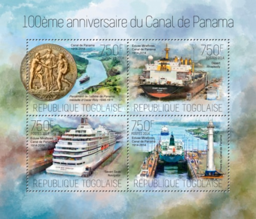 [The 100th Anniversary of the Panama Canal, type ]
