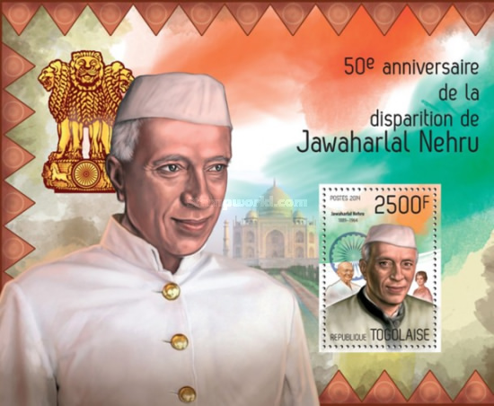 [The 50th Anniversary of the Death of Jawaharlal Nehru, 1889-1964, type ]