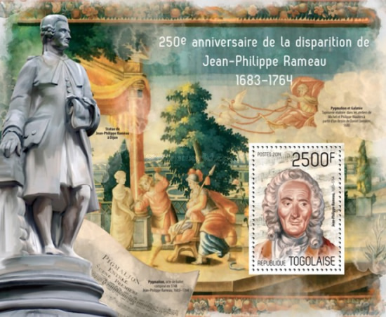 [The 250th Anniversary of the Death of Jean-Philippe Rameau, 1683-1764, type ]