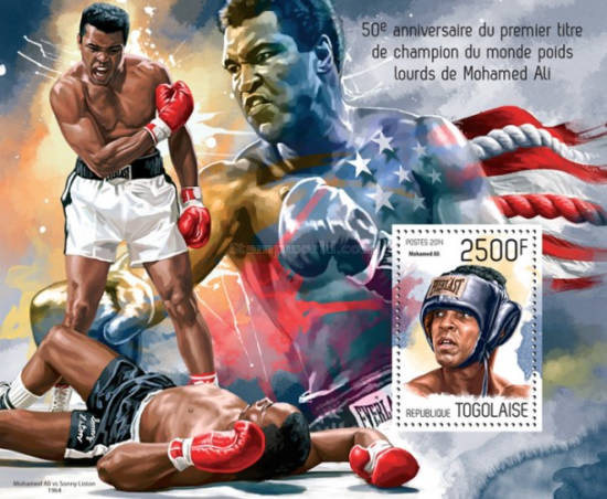 [Sports - The 50th Anniversary of the First World Heavyweight Title of Muhammad Ali, 1942-2016, type ]