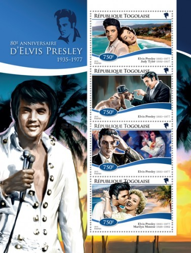 [The 80th Anniversary of the Birth of Elvis Presley, 1935-1977, type ]