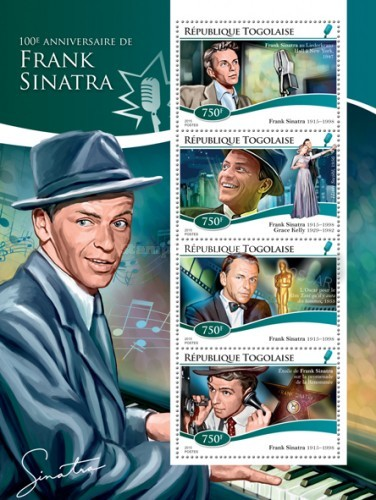 [The 100th Anniversary of the Birth of Frank Sinatra, 1915-1998, type ]