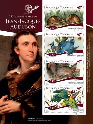 [The 230th Anniversary of the Birth of Jean-Jacques Audubon, 1785-1851, type ]