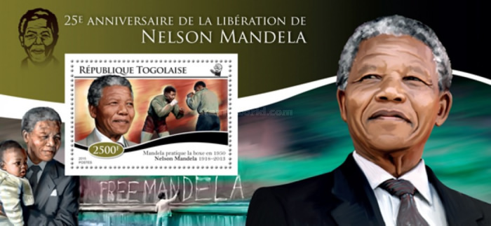 [The 25th Anniversary of the Liberation of Nelson Mandela, 1918-2013, type ]