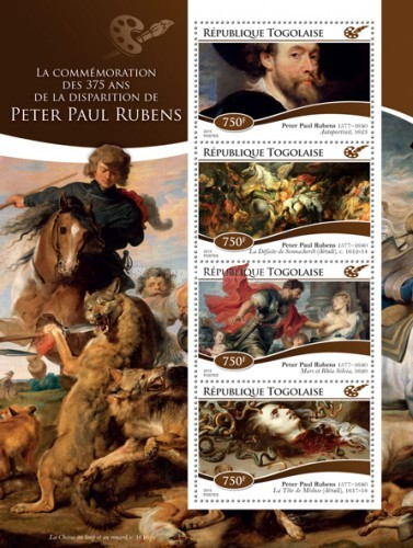 [Paintings - The 375th Anniversary of the Death of Peter Paul Reubens, 1577-1640, type ]