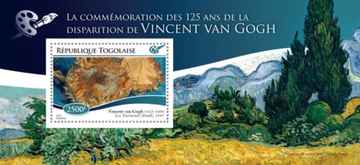 [Paintings - The 125th Anniversary of the Death of Vincent Van Gogh, 1853-1890, type ]