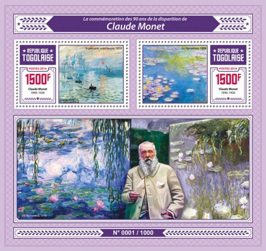[Paintings - The 90th Anniversary of the Death of Claude Monet, 1840-1926, type ]