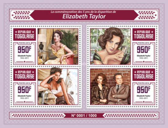 [The 5th Anniversary of the Death of Elizabeth Taylor, 1932-2011, type ]