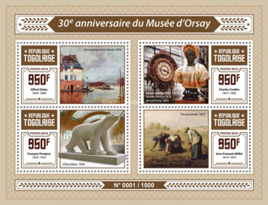 [The 30th Anniversary of the Orsay Museum, type ]