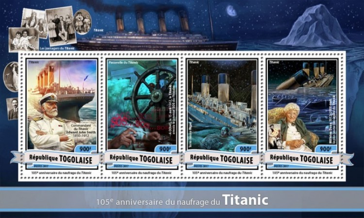 [Transportation - The 105th Anniversary of the Sinking of the Titanic, type ]