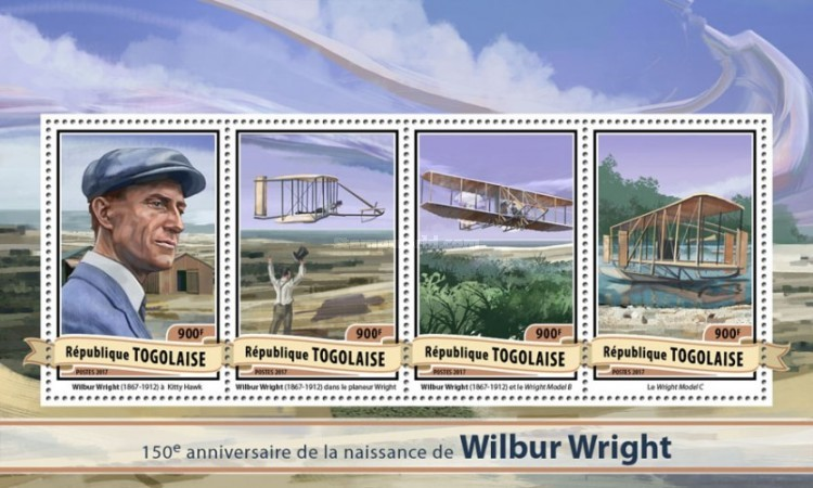 [The 150th Anniversary of the Birth of Wilbur Wright, 1867-1912, type ]