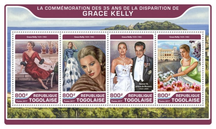 [The 35th Anniversary of the Death of Grace Kelly, 1929-1982, type ]