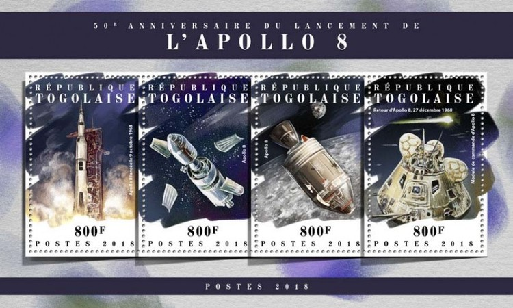 [The 50th Anniversary of the Launch of Apollo 8, type ]