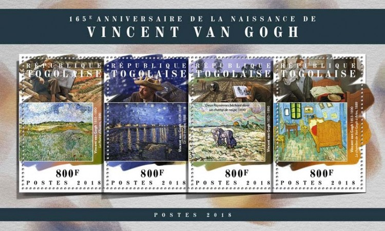 [The 165th Anniversary of the Birth of Vincent van Gogh, 1853-1890, type ]