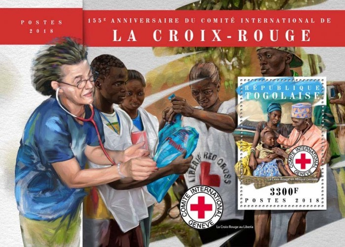 [The 155th Anniversary of the International Committee of the Red Cross, type ]