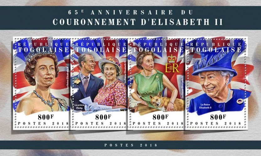 [The 65th Anniversary of the Coronation of Elizabeth II, type ]