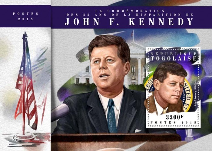 [The 55th Anniversary of the Death of John F. Kennedy, 1917-1963, type ]