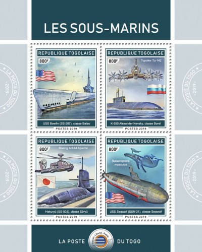 [Transportation - Submarines, type ]