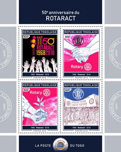 [The 50th Anniversary of Rotaract, type ]