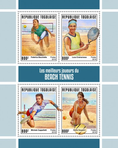 [The Best Players of Beach Tennis, type ]