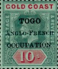 [Gold Coast Postage Stamps Overprinted Locally -