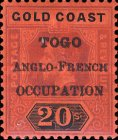 [Gold Coast Postage Stamps Overprinted in London -