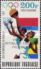 [Airmail - West Germany, Winner of Football World Cup, type AAG1]