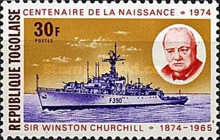 [The 100th Anniversary of the Death of Sir Winston Churchill, 1874-1965, type AAM]