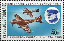 [The 100th Anniversary of the Death of Sir Winston Churchill, 1874-1965, type AAN]