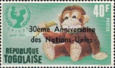 [Airmail - The 30th Anniversary of the United Nations, type ACL]