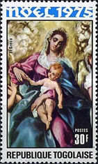 [Christmas - Madonna and Child Paintings, type ACP]