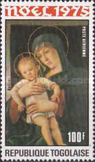 [Airmail - Christmas - Madonna and Child Paintings, type ACS]