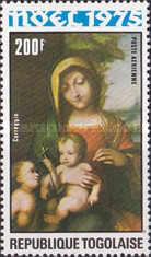 [Airmail - Christmas - Madonna and Child Paintings, type ACT]
