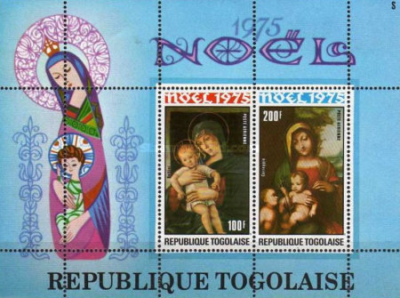 [Airmail - Christmas - Madonna and Child Paintings, type ACT1]