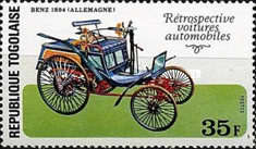 [The 100th Anniversary of the Birth of Louis Renault, 1877-1944 - Classic Cars, type AFW]