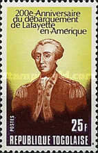 [The 200th Anniversary of Lafayette's Arrival in America, type AHF]