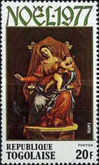 [Christmas - Madonna and Child Paintings, type AHJ]
