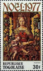 [Christmas - Madonna and Child Paintings, type AHK]