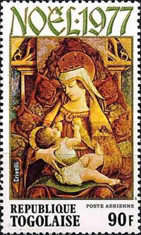 [Christmas - Madonna and Child Paintings, type AHM]
