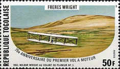 [The 75th Anniversary of the First Powered Flight by the Wright Brothers, type AHS]