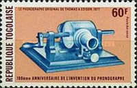 [The 10th Anniversary of Invention of the Phonograph, type AJJ]