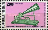 [Airmail - The 10th Anniversary of Invention of the Phonograph, type AJL]