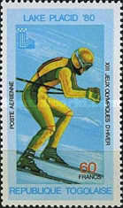 [Airmail - Winter Olympic Games - Lake Placid, USA, type ANG]
